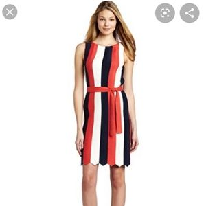 || TRINA TURK || Large Thurlow Stripes Dress